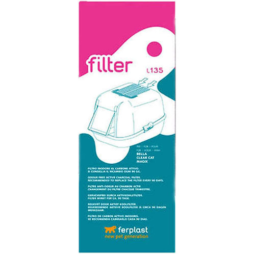 Refil de Filtro de Carbono Ferplast para Sanitário de Gatos
