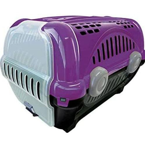 Caixa de Transporte Furacão Pet Luxo Lilás N° 1