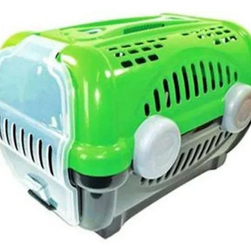 Caixa de Transporte Furacão Pet Luxo Verde N° 1
