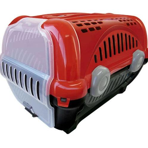 Caixa de Transporte Furacão Pet Luxo Vermelha N° 1