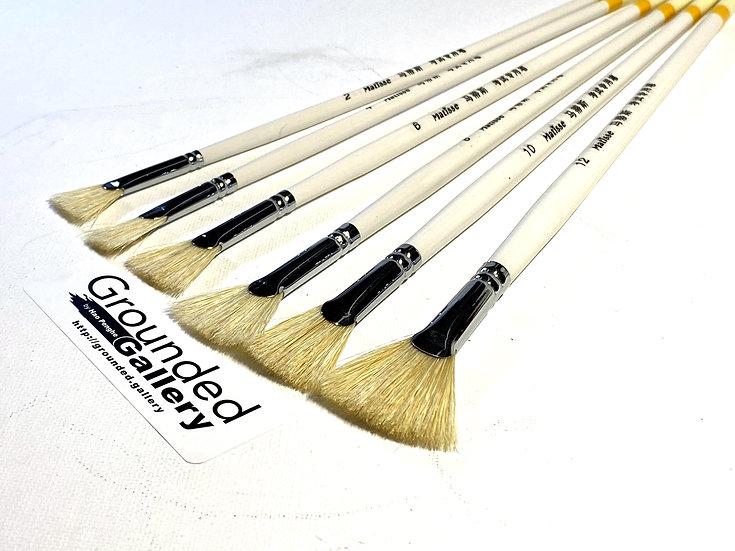 Matisse 6 Fan Brush Kit