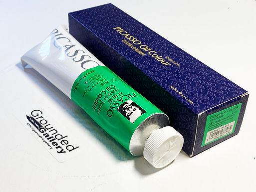Picasso Oil Paint - 559 Emerald Green