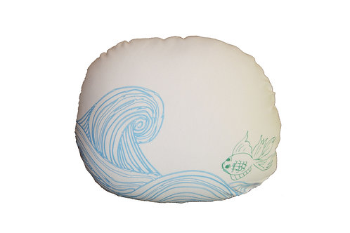 FISH WAVES (WHITE)