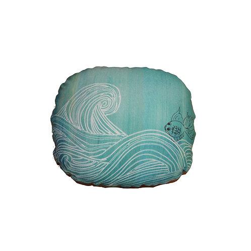 FISH WAVES (BLUE)