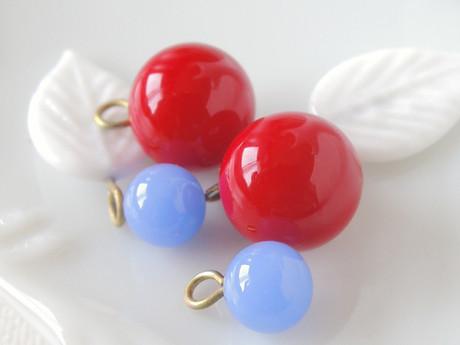 Tutti-Frutti glass bead set