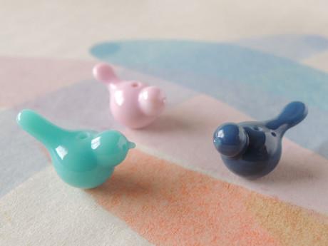 ディープトーン? Simple Bird beads