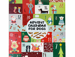 Sam's Club   Advent Calendar for Dogs with 35 All Natural Treats
