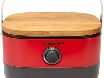 Amazon    Cuisinart Portable, Venture Gas Grill, Red