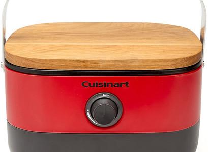 Amazon  | Cuisinart Portable, Venture Gas Grill, Red