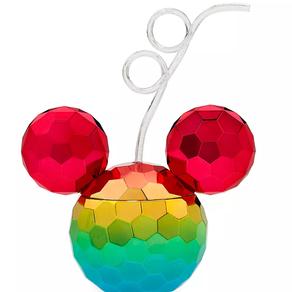 Shop Disney   Mickey Mouse Icon Rainbow Tumbler with Straw – 2020