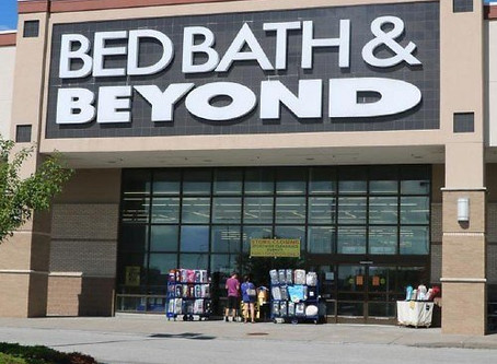 Bed Bath and Beyond Closing 63 Stores