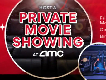 You Can Rent An Entire AMC Theater For $99