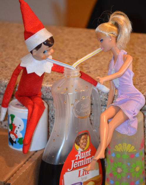 Syrup Sippin' | Elf On The Shelf