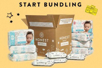 The Honest Company   30% Off Diaper & Wipes Bundle