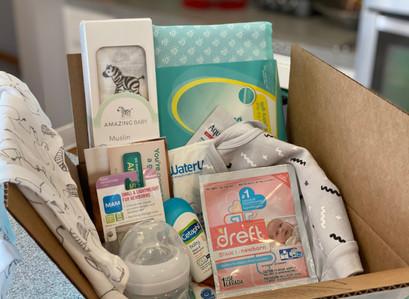 Free Welcome Box W/ New Amazon Baby Registry