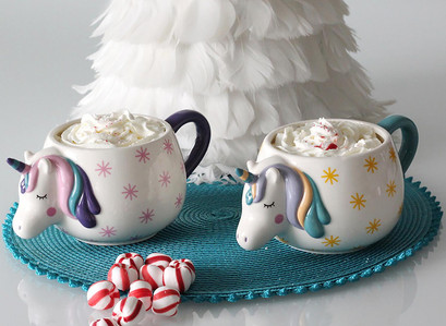 Unicorn Novelty Mug Set 3pc Set at Sam's Club