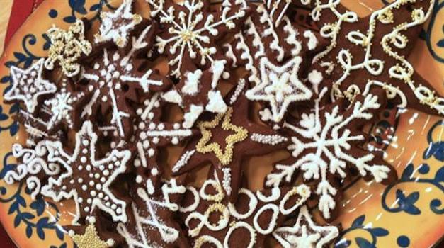 Recipe | How To Make Lidia Bastianich's Chocolate Start Cookies