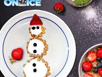 Disney On Ice | Recipe | How To Make Olaffles