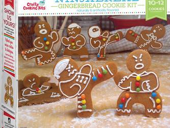 Ninja Bread Gingerbread Cookie Kit