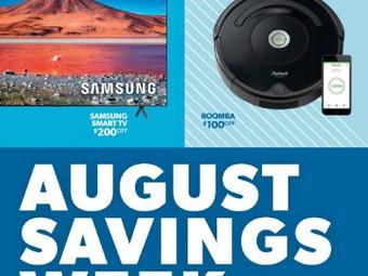 Sam's Club August Savings Week Sneak Peak Starting on August 1st