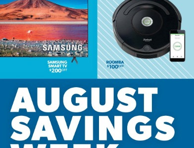 Sam's Club August Savings Week Sneak Peak Starting on August 1st
