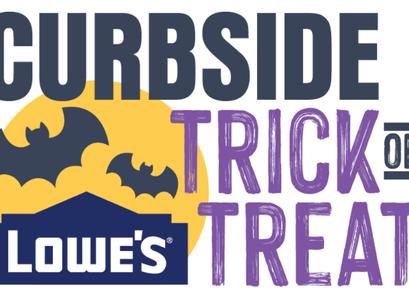 Lowe's | Halloween Curbside Trick or Treating + Free Pumpkin