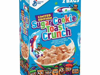 Sugar Cookie Toast Crunch Cereal Is Here!