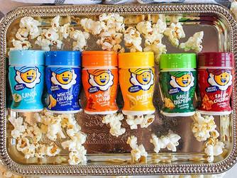 Kernel Season's Popcorn Seasoning Jr. Mini Jars Savory Variety 6 Pack