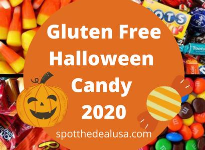 Gluten-Free Halloween Candy List 2020