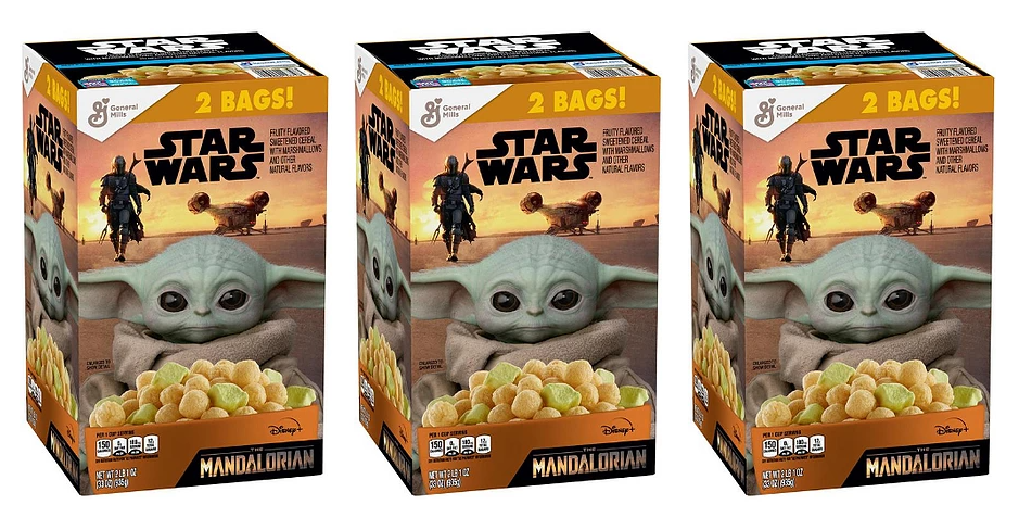 Star Wars The Mandalorian Cereal