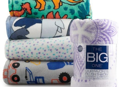 Kohl's | The Big One Oversized Supersoft Throw
