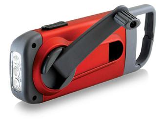 Amazon  American Red Cross Hand Crank Emergency Flashlight & Smartphone Charger