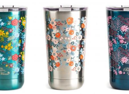 Walmart | The Pioneer Woman 18oz Stainless Steel Floral Tumblers 3 PK