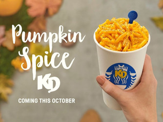 Pumpkin Spice Macaroni & Cheese Is Coming This Fall