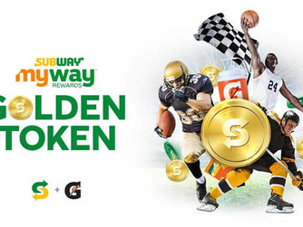 Subway Golden Token Instant Win Game And Sweepstakes