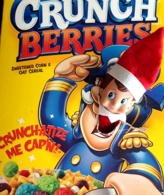 The Captain | Elf On The Shelf