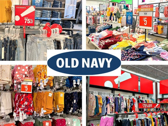 Old Navy   Up To 75% OFF Clearance
