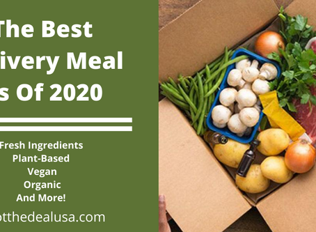 The Best Delivery Meal Kits Of 2020