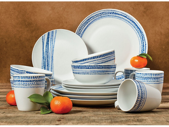 16-Pc Macy's Tabletop Unlimited Dinnerware Set