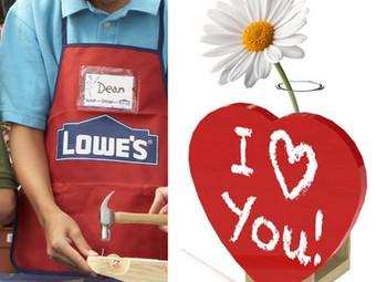 FREE Kids' Workshop Valentine's Day Kit at Lowe's