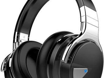 Amazon | COWIN E7 Active Noise Cancelling Headphones Bluetooth Headphones with Mic