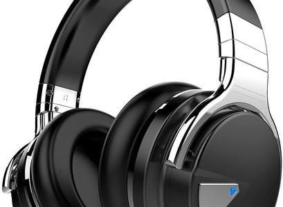 Amazon   COWIN E7 Active Noise Cancelling Headphones Bluetooth Headphones with Mic