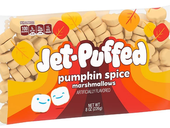Kraft Jet-Puffed Pumpkin Spice Marshmallows