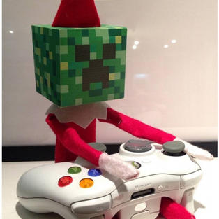 Minecraft | Elf On The Shelf