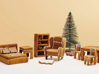 Build Your Own IKEA Tiny Gingerbread Furniture To Furnish Your Gingerbread Houses