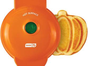 Amazon   Dash Mini Waffle - Pumpkin