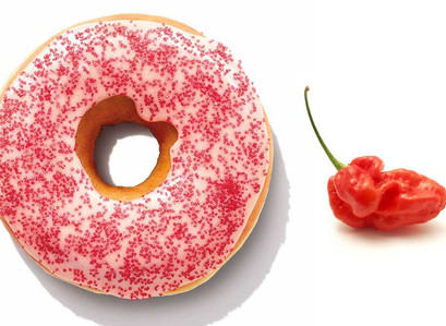 NEW!! Are You Ready For The Ghost Pepper Donut At Dunkin'?