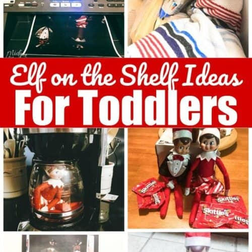 Simple Ideas For Toddlers | Elf On The Shelf