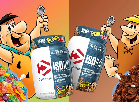 Dymatize Fruity and Cocoa Pebbles ISO100s 100% Whey Protein