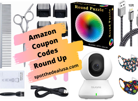 Amazon Coupon Codes Round Up August 28th, 2020